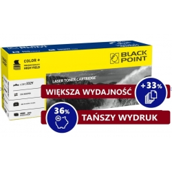 46508709 YELLOW toner BLACK POINT zamiennik do Oki MC363DN, OKI C332DN